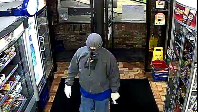 Fox Valley Metro police are looking for this man who robbed a Kimberly convenience story Sunday night.