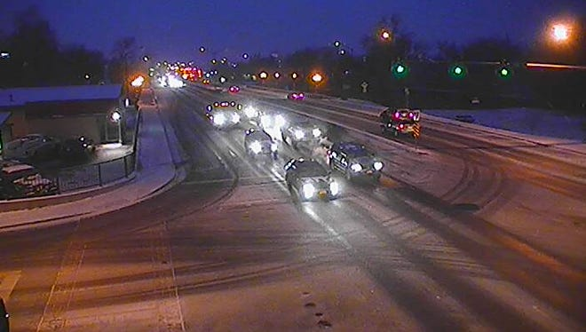Traffic camera at Vine Dr. and College Ave. in Fort Collins on Tuesday, Nov. 11, 2014.