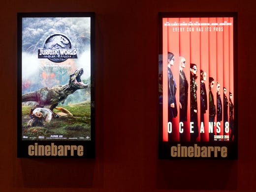 west town mall cinebarre offers fun showing of food drink