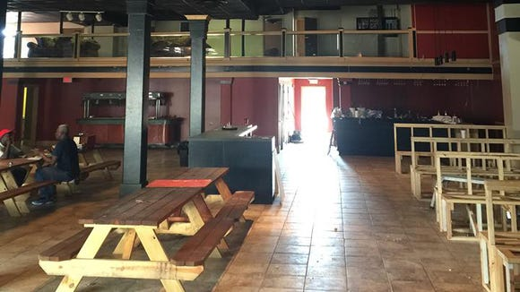 The special VIP section on the second floor can be seen in this photo of VIP, a new bistro and event venue opening in downtown Lafayette