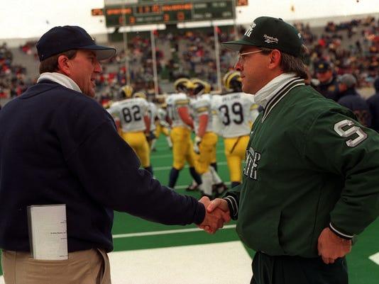 MSU, Michigan football 1995