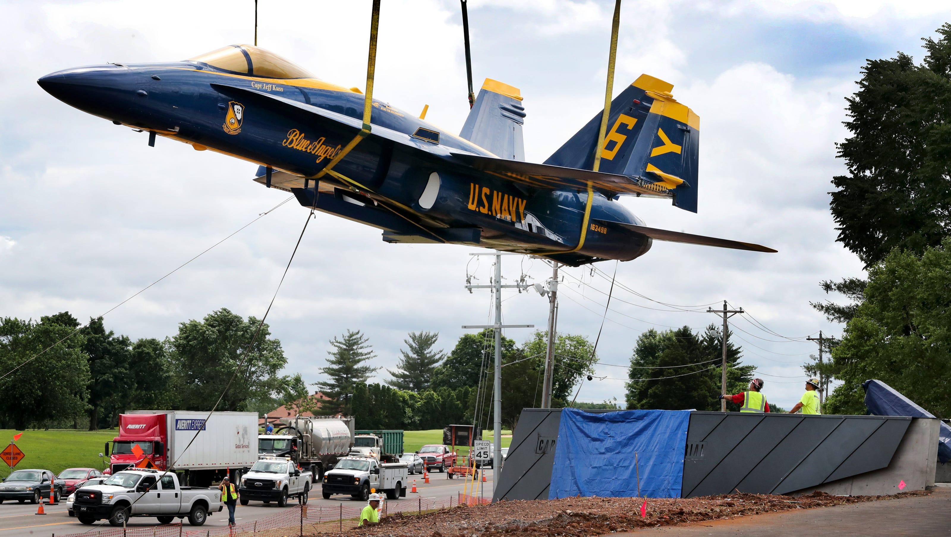 blue angel memorial: smyrna a step closer to healing after 2016 crash