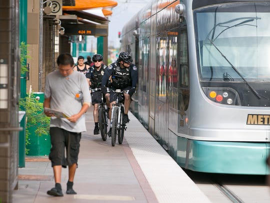 Some would like to see light rail, which runs in Mesa