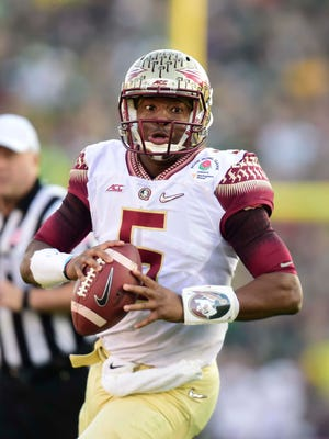 Florida State Seminoles quarterback Jameis Winston will meet the media today.