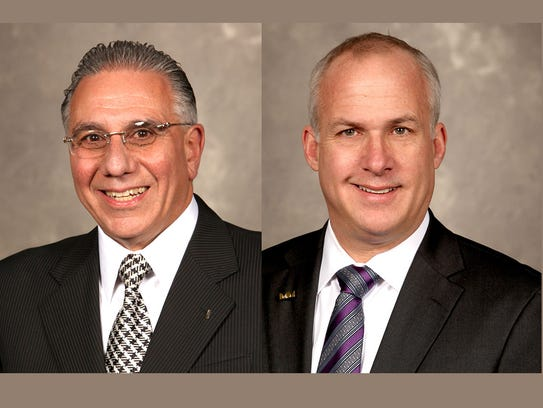 Paul Sabatini, chairman, and Sam Slaughter, vice chairman