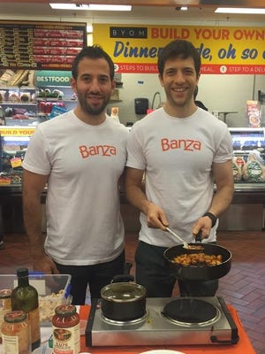 Scott, left, and Brian Rudolph are co-owners of Banza pasta.