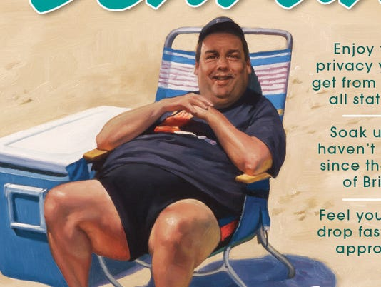 Chris Christie in Mad
