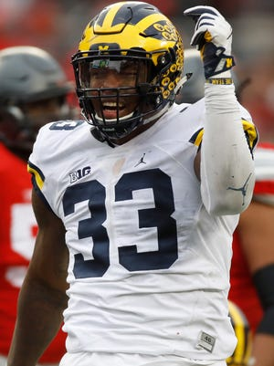 DL Taco Charlton. Projected round: 1-2. A natural pass rusher with long arms, he was dominant last season, especially in final four games. But some wonder why it wasn't that consistent for first 3 1/2 years. His potential has teams interested and someone may reach earlier than expected on the measurables.