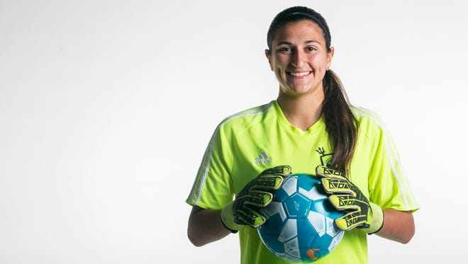 Mariner goalkeeper Acelya Aydogmus signed with Troy.