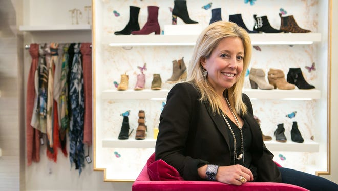 Sissy Aerenson, an owner of Peter Kate, has moved her popular women's boutique from Greenville to the Fairfax Shopping Center on Concord Pike.