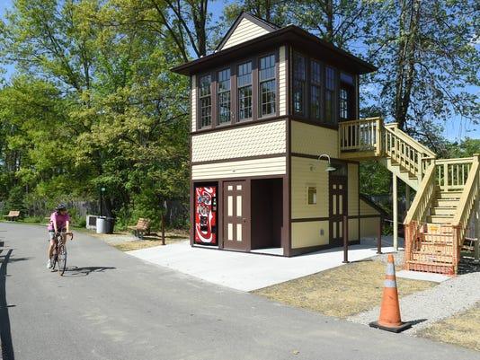 Hopewell Depot signal tower