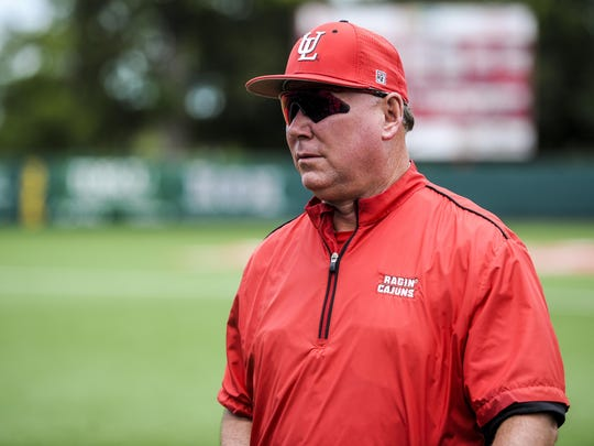 UL coach Tony Robichaux is looking at a busy week for