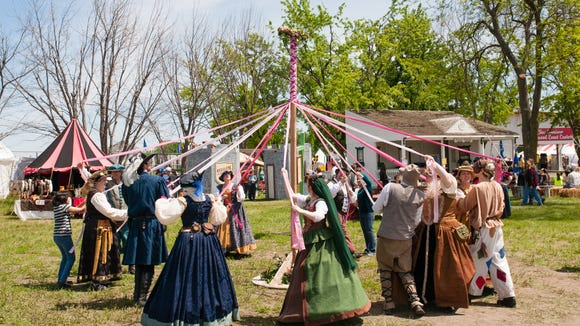 A scene from a previous Siouxland Renaissance Festival.  Courtesy photo