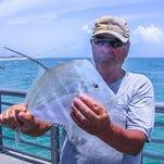 Brevard fishing report for weekend of June 23-25