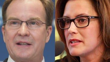 Schuette, Whitmer release tax returns