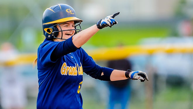 Emily Songer and Grand Ledge have high expectations this spring.