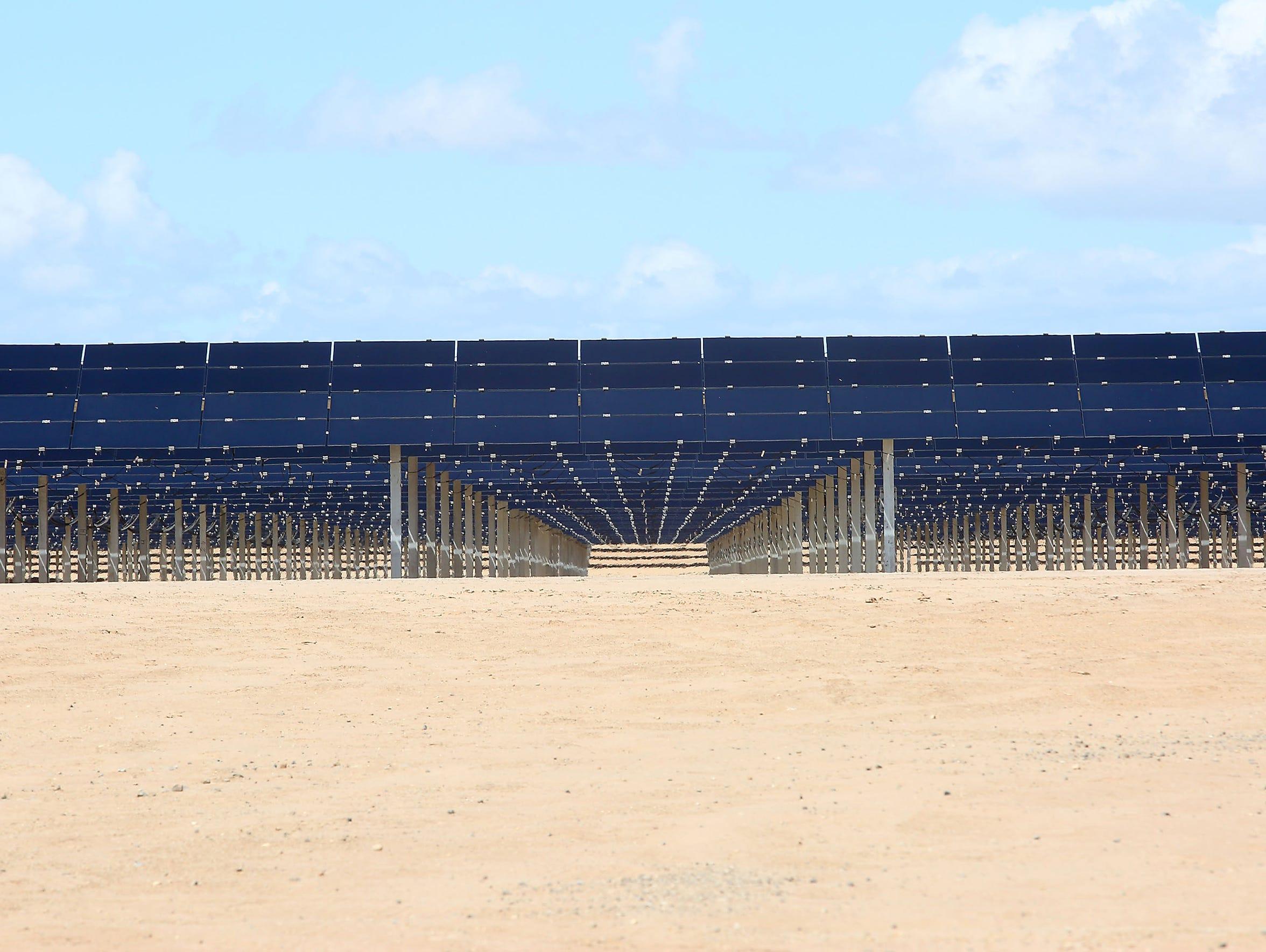 The 150-megawatt Tenaska Imperial Solar Energy Center