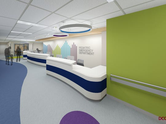 A redesigned and revamped Pediatric Emergency Department with sensitivity to special-needs patients is part of the Robert Wood Johnson University Hospital in New Brunswick's expansion project. RWJUH is undergoing a two-year $60 million Emergency Department expansion project that will see state-of-the-art advancements and improved privacy, access and flow for patients.