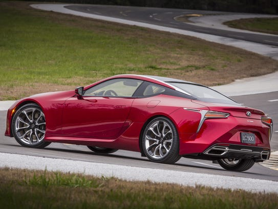 The 2018 Lexus LC500