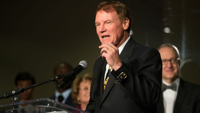 Wegmans CEO Danny Wegman speaks at the Wegmans Wonderplace exhibit opening at the Smithsonian National Museum of American History on Wednesday, December 9, 2015.