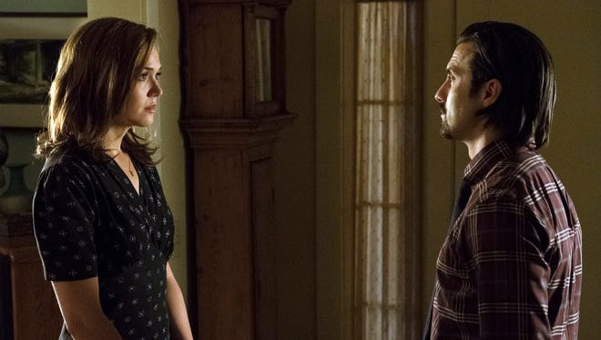Rebecca (Mandy Moore) and Jack (Milo Ventimiglia) are at the center of the Season 1 finale of NBC's 'This Is Us.'
