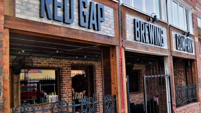 The Red Gap Brewing Co. is located in a former department store building in Cisco believed to be about 100 years old.