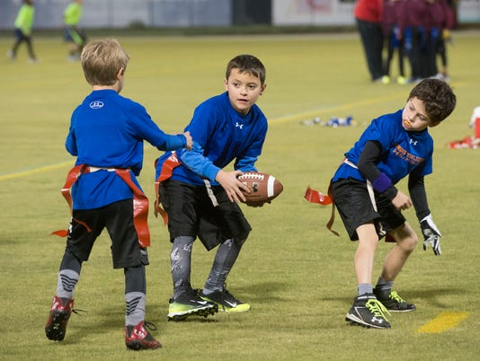 Flag Football-Derrick Brooks