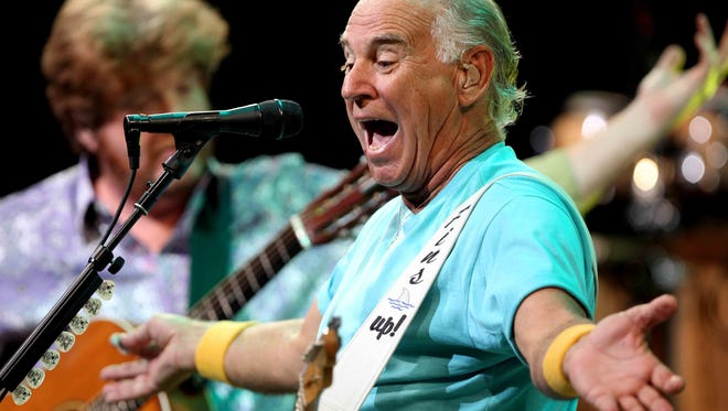 Jimmy Buffett makes his annual visit to Riverbend Music Center on July 18. Tickets go on sale Friday.