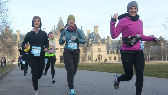 More than 1,000 runners take part in the Asheville Marathon and Half Marathon at the Biltmore Estate each March. The race field is nearly full for the March 2016 race.