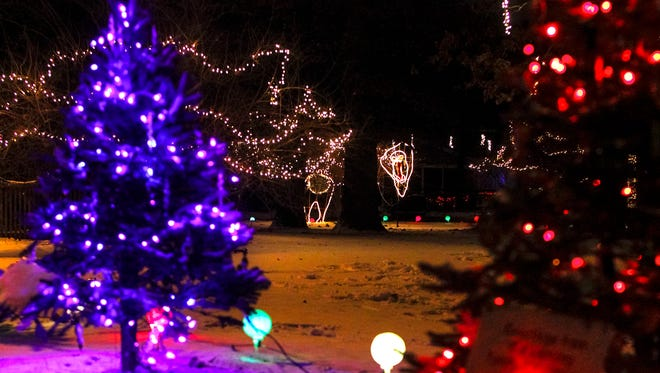 The 22nd annual Wonderland of Lights kicks off at Potter Park Zoo this Friday.