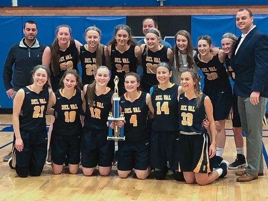 The Del Val High School girls' were triumphant in the