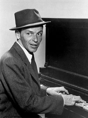 Hoboken native Frank Sinatra, shown in a 1957 publicity portrait.
