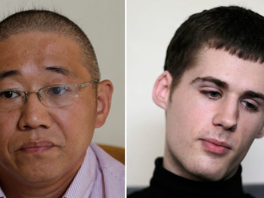 AP NORTH KOREA DETAINED AMERICAN I FILE PRK