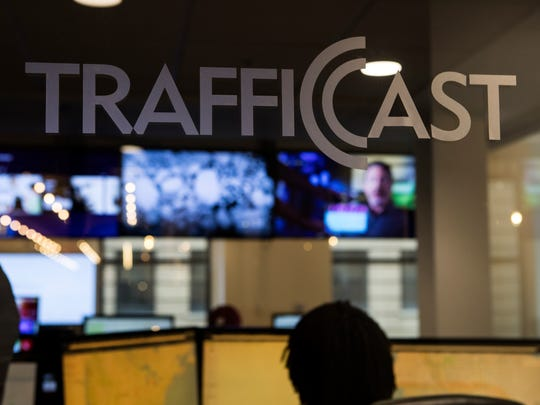 TrafficCast, a service that provides real-time forecasting