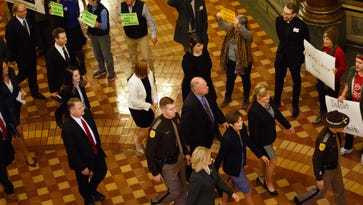 The Iowa Capitol dance: One step forward, two steps back