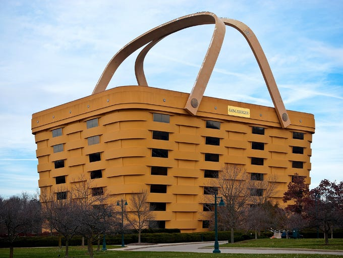 Longaberger Company home office building, Newark, Ohio: