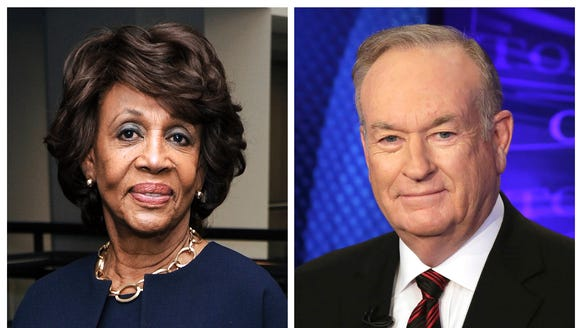 Rep. Maxine Waters, D-Calif., and Fox News personality