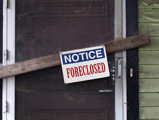 10 states suffering the most from foreclosures