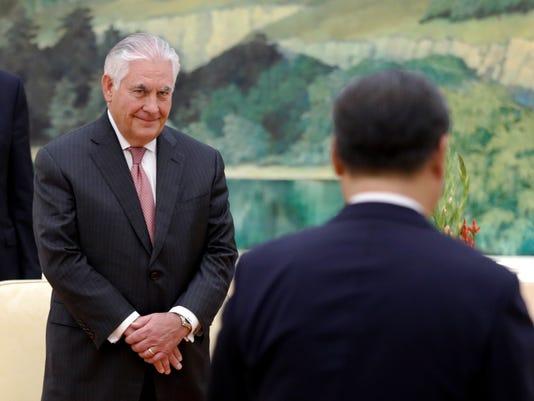 EPA CHINA USA DIPLOMACY POL DIPLOMACY CHN