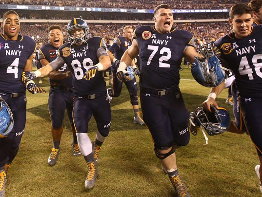 Adam West and Navy ready for for bowl game