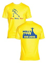 Orders are being taken for T-shirts to support Elmira native Molly Huddle.