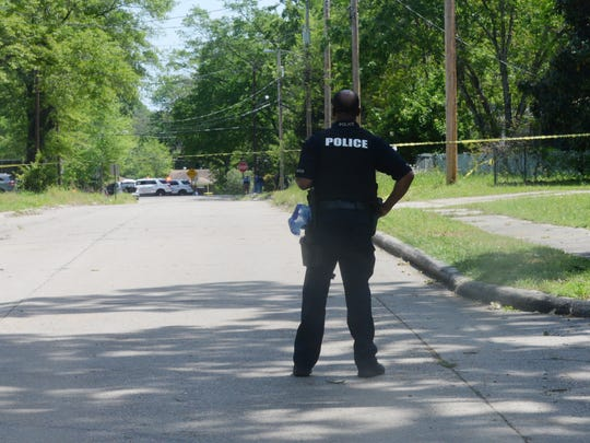 At 10:48 a.m., Shreveport police responded to a report of shots fired at the 1300 block of Natalie Street.