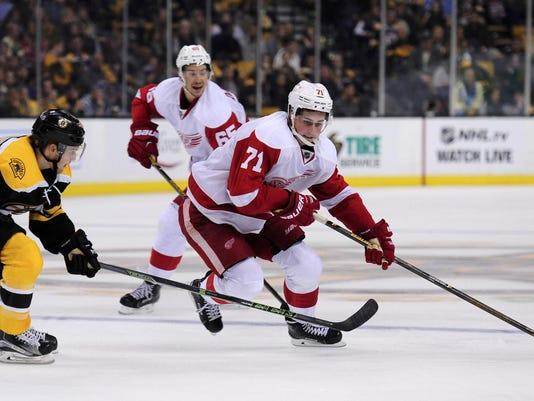 NHL: Preseason-Detroit Red Wings at Boston Bruins