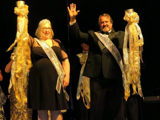Krewe Gemini Duchess and Duke of Texas Sherri Underwood