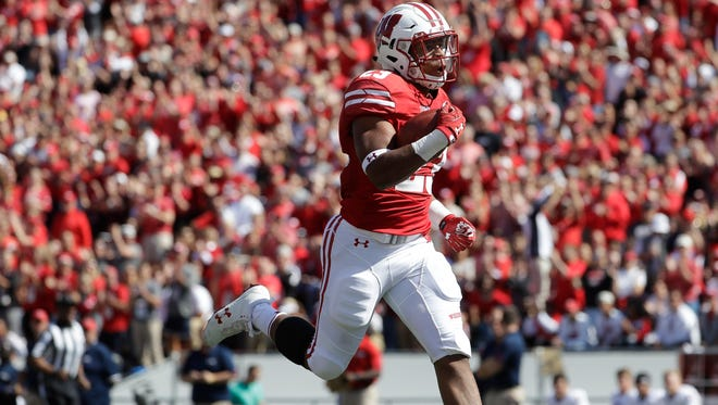 Wisconsin freshman tailback leads the Big Ten in rushing with 146 yards a game.