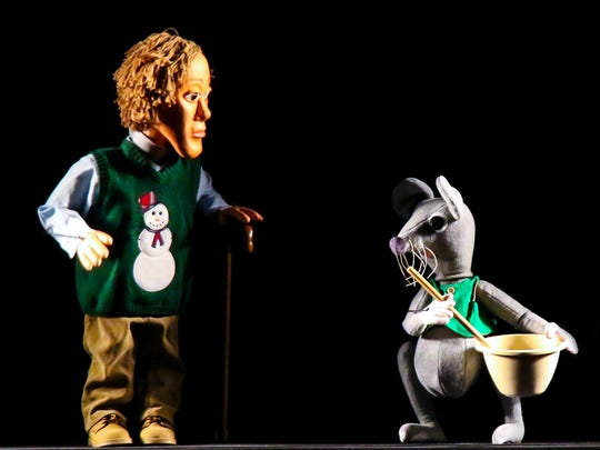 """Puppet Arts Theatre's """"Twas the Night Before Christmas"""" starts Thursday."""