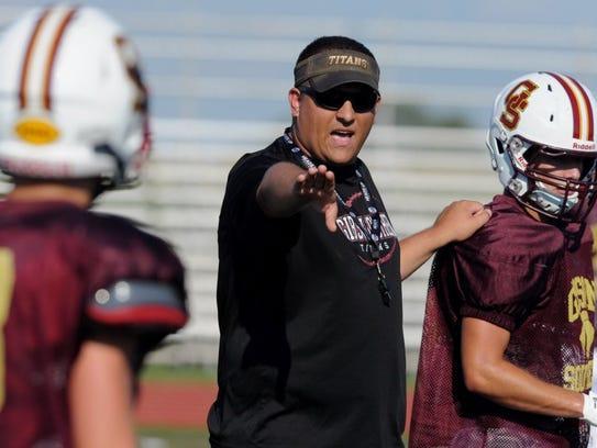 Gibson Southern High School football head coach Nick