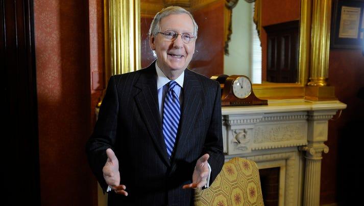 Senate Majority Leader Mitch McConnell of Kentucky.