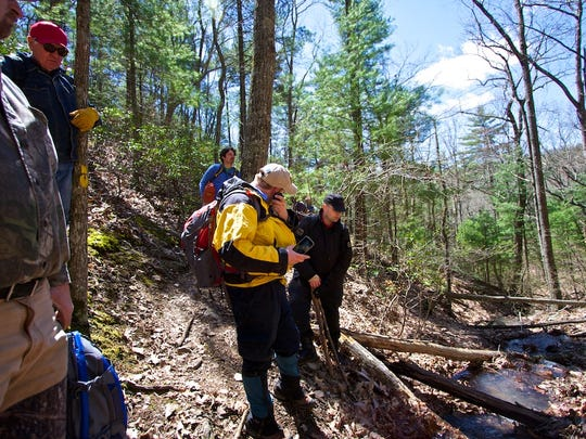 Technology is important but boots on the ground are required to search for missing hikers. This party went out in April to look for Bobby Fitzgerald's remains or evidence of his disappearance.