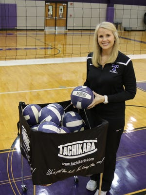 The 2016 All-West Tennessee Volleyball Coach of the Year is TCA's Kelly Elliott.